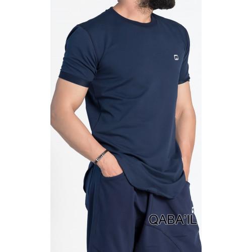 T-Shirt Manches Courtes - Nautik - Bleu Nuit - Qaba'il - 3023