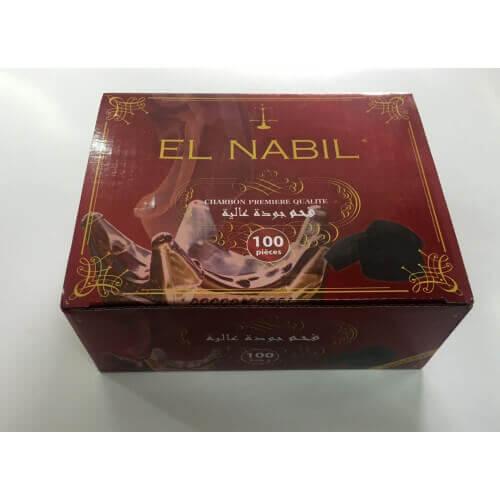 1 Boite de 100 Charbons pour Bruleur - Qualité Premium - El Nabil