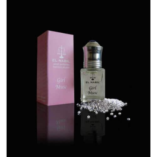 Girl Musc 5 ml - Enfant Saudi Perfumes - Sans Alcool - El Nabil