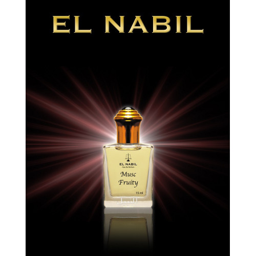 Musc Fruity - Eau de Parfum Roll-on - 15 ml - Saudi Perfumes - El Nabil