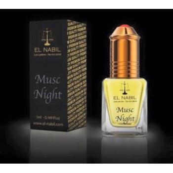 Musc Night 5 ml - Saudi Perfumes - Sans Alcool - El Nabil