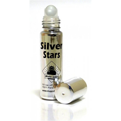 Musc Silver Star - Edition de Luxe Paris - 8 ml - Musc d'Or - Sans Alcool - M116