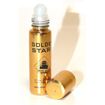 Musc Golden Star - Edition de Luxe Paris - 8 ml - Musc d'Or - Sans Alcool - M133
