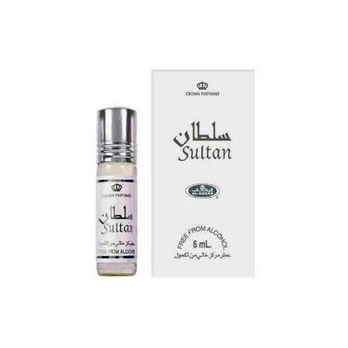Sultan - Musc Sans Alcool - Concentré de Parfums Bille 6ml - Al Rehab