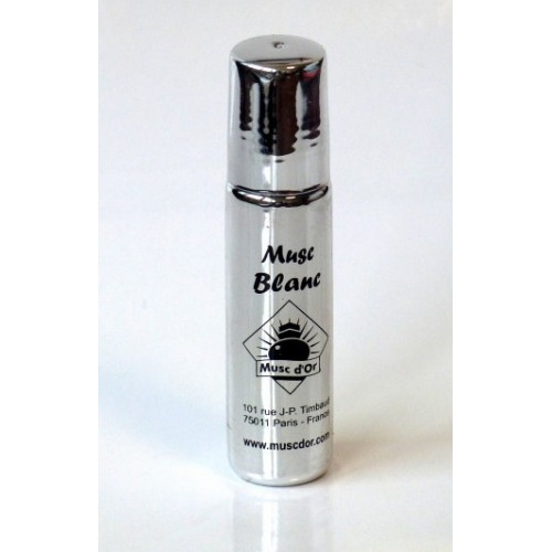 Musc Blanc - Edition de Luxe Paris - 8 ml - Musc d'Or - Sans Alcool - M115