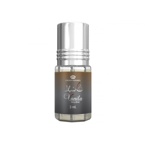 Vanila Musk - Musc Sans Alcool - Concentré de Parfums Bille 3ml - Al Rehab