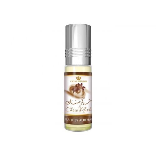 Choco Musk - Musc Sans Alcool - Concentré de Parfums Bille 6ml - Al Rehab