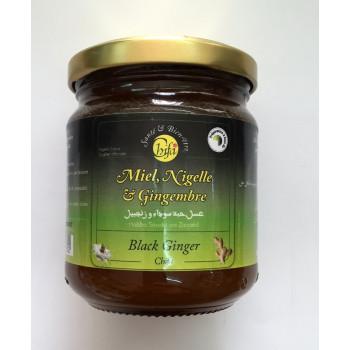 Miel, Nigelle et Gingembre Moulus - CHIFA - 250 gr