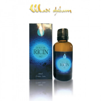 Huile de Ricin Bio - 50 ml - Wadi Shibam