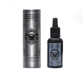 Beard Elixir - Accélérateur de Pousse de Barbe - Huiles 100% Naturelles - The One Cosmetix - 30 ml - 5621