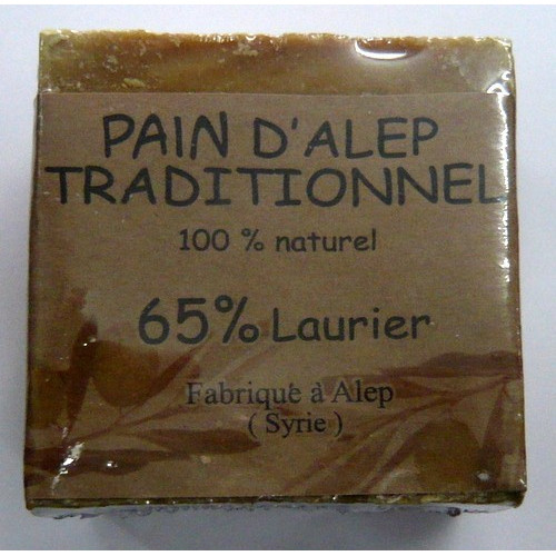 Pain d'Alep Traditionnel 100% Naturel et 65% de Laurier