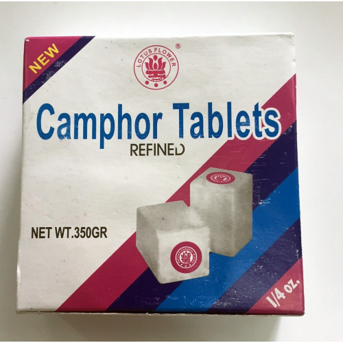 Camphre Raffiné - lot de 4 Tablettes - 22 gr - 3562