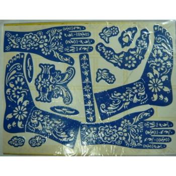 Motifs pour Tatouage au Henné (Mains + Corps)