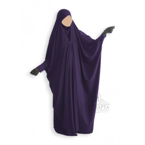 Jilbab Saoudien Umm Hafsa Prune