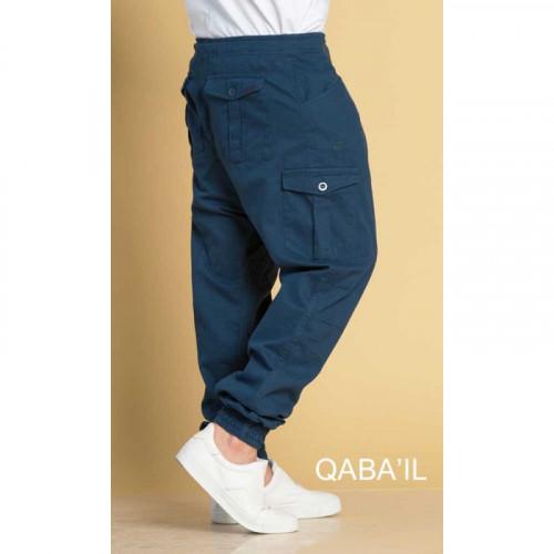 Saroual Cargo V3 - Bleu - Qaba'il