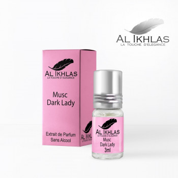 Musc Dark Lady - 3 ml - Musc Ikhlas