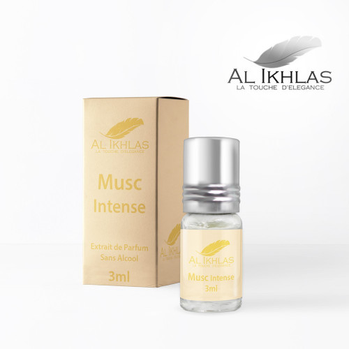 Musc Intense - 3 ml - Musc Ikhlas