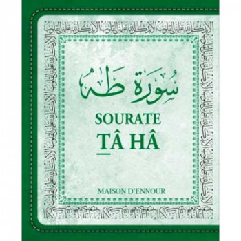 Sourate Tâ Hâ - Arabe/Français/Phonétique - Format de Poche 8 x 10 cm -Edition Ennour