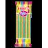 Bonbons Candy Stiks - Fizzy Belt - Fruit Mixé - Végétarien - Fabriqué avec du Vrai Jus de Fruit - Bebeto - Halal - Sachet 180gr