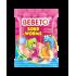 Bonbons Sour Worms - Fabriqué avec du Vrai Jus de Fruit - Bebeto - Halal - Sachet 80gr