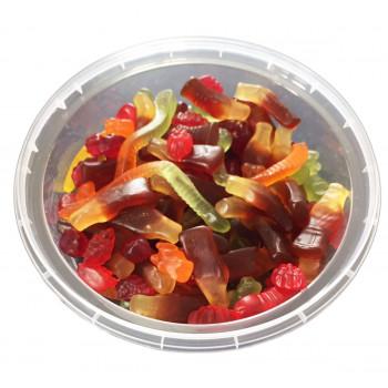 Bonbons Sub Mix - Assortiments de Bonbons Gélifiés - Bebeto - Halal - Boite de 350gr