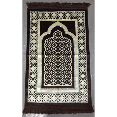 Tapis de Prière de Luxe Chocolat - TPL - 3231
