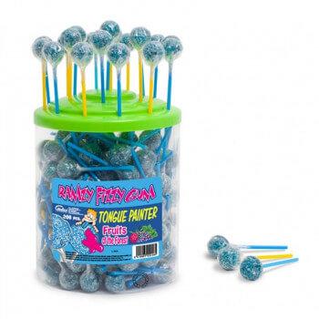 Bonbons - Sucette RAMZY - FRUITS DES BOIS - Chewing Gum - Halal - 4923