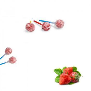 Bonbons - Sucette RAMZY - FRAISE - Chewing Gum - Halal - 4921