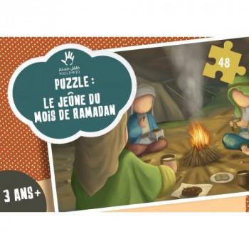 Puzzle Le Jeune du Mois de Ramadan - SEYAM - 48 Pièces - Muslim Kid - 3 ans+