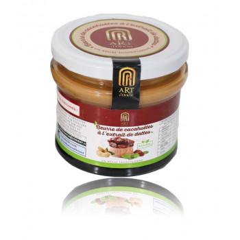 Beurre de Cacahuètes à l'Extrait de Dattes - 100% Naturel - 200 gr - Art d'Orient